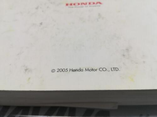 2005 Honda Civic 5 Door Owner Manual Radio Handbook Service Wallet Booklets Book