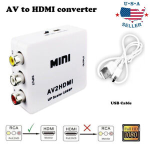 Input-AV-RCA-to-HDMI-Output-Video-Converter-Adapter-1080p-Upscaler-USB-Cable