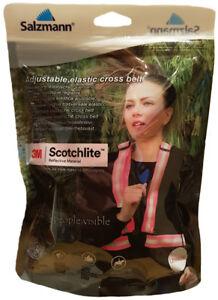 Salzmann 3M Scotchlite Reflective Cross Belt Running, Walking, Cycling, Strap
