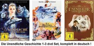 Die-unendliche-Geschichte-1-3-dvd-Filme-Set-NEU-OVP-deutsch-1-2-3-I-II-III