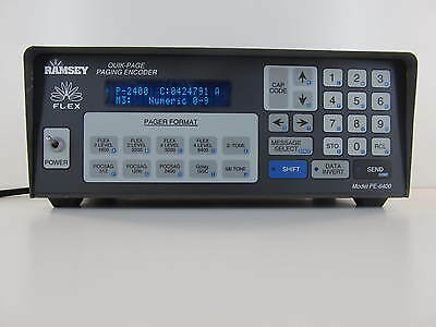 RAMSEY PE-6400 2 WAY RADIO and PAGER TESTER HAM Minitor