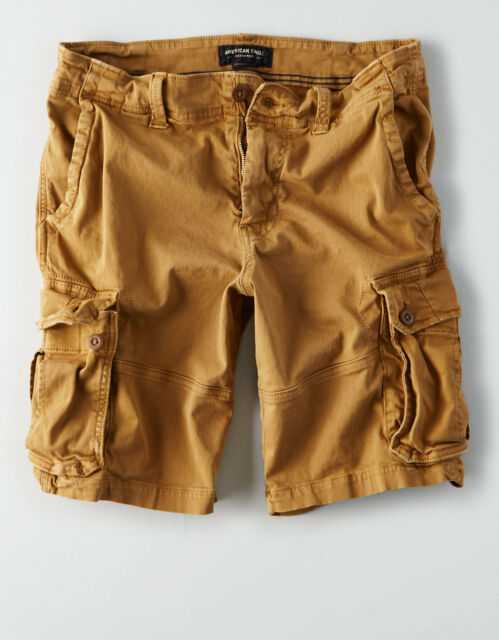NEW American Eagle Outfitter Men EXTREME FLEX LONGER LENGTH CARGO SHORT 40 to 48