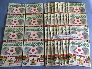 Panini World Cup Mexico 86 Football Stickers - Pick or choose your numbers