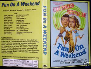 DIVERSIoN-en-un-fin-de-semana-DVD-Priscilla-Lane-Eddie-Bracken