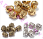 Wholesale-20pcs-Tibet-Silver-Charm-Buddha-Head-Spacer-Beads-DIY-Jewelry-Finding thumbnail 5