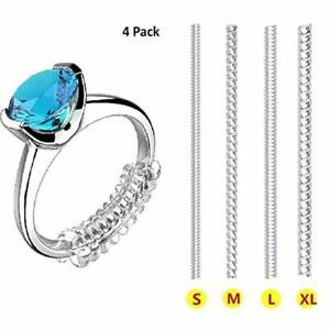 Invisible Ring Resizer Jewelry Size Reducer Clear Spacer Guard Adjuster