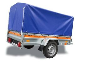 pkw anh nger mit plane 750 kg 200 x105 x110 cm. Black Bedroom Furniture Sets. Home Design Ideas