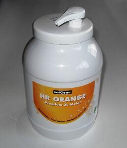 3-Liter-Handwaschpaste-Handreiniger-mit-Spender-PREMIUM-Orange
