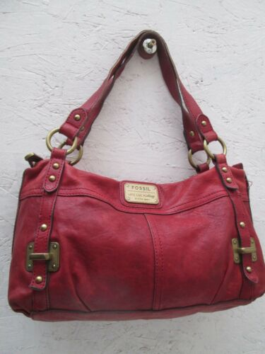 Fossil Sac Bag Vintage À Main Authentique Cuir wCBx4qH8H