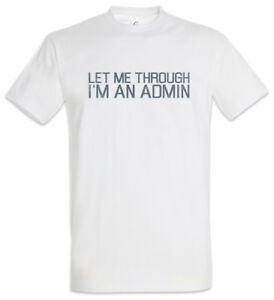 funny TSHIRT S COMPUTER GEEK cotton ADMIN MASTER OF MY OWN DOMAIN 3XL