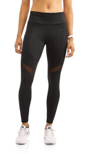 Danskin Now Women/'s Full Length Moto Performance Legging Various Sizes NEW Black