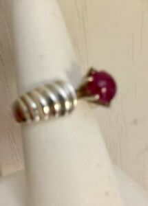 STUNNING-Brilliant-Certified-REAL-2-85-Ct-Burma-Blood-Red-Ruby-RING-925-SS-Sz-7