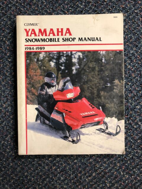 Clymer Yamaha Snowmobile 1984