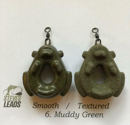 10 x Gripper Carp Leads Smooth//Textured All Sizes Available
