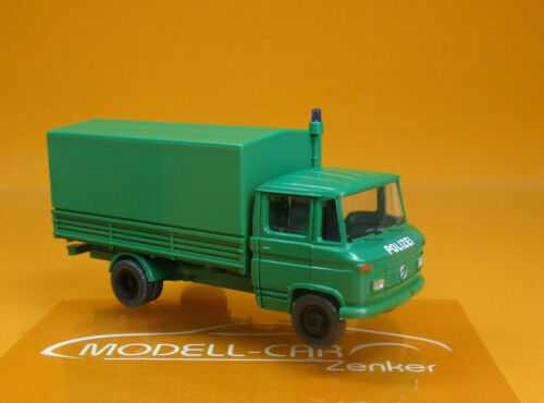 Wiking 086442 MB L 408 Polizei PP-LKW grün Scale 1 87