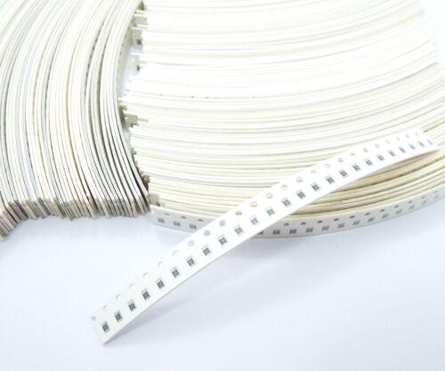 SMT SMD Résistance 0805 -5/% 0R ~ 10MR Nouveau montage en surface libre Combinaison 100pcs
