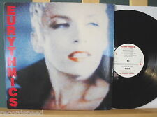 """★★ 12"""" LP - EURYTHMICS - Be Yourself Tonight - OIS + Text Blatt (Lyrics) ITALY"""