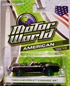 1969-Chevrolet-Camaro-Convertible-Noir-Greenlight-034-GREEN-MACHINE-034-1-64