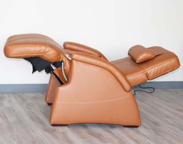 Magnificent Cognac Human Touch Pc 086 Tranquility Zero Gravity Recliner Chair Massage Heat Short Links Chair Design For Home Short Linksinfo