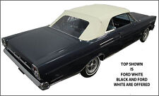 "FORD GALAXIE, MERCURY MONTEREY & PARK LANE CONVERTIBLE TOP ""DIY"" PKG 1965-1966"
