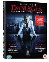 DAMAGES COMPLETE SERIES 1 DVD Season Box Set + BONUS FEATURES New UK 1st First