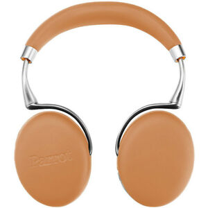 Parrot-Zik-3-Wireless-Noise-Cancelling-Bluetooth-Headphones-Camel-Leather