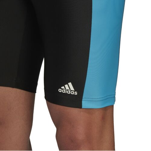 adidas Infinitex Jammer Badehose Herren lang aus recyceltem Plastik schwarz