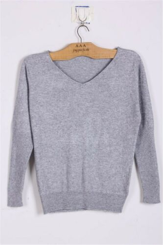 Loose Plus Size Sweaters Cashmere Sweater Women Wool Pullover V-neck