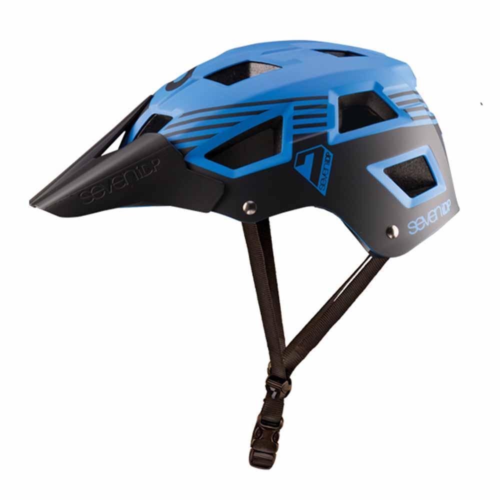 tutti Mountain MTB Enduro Casco ciclo 7IDP M5 Blu