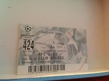 Football Ticket - UEFA -Champions League - AFC Ajax - Club Brugge - 2003