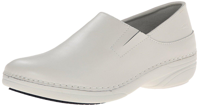 Spring Step MANILA Damenschuhe Off WEISS WIDE WIDTH Slip Resistant Work Schuhes
