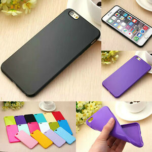 Ultra-Thin-Candy-TPU-Silicone-Rubber-Soft-Case-Cover-For-iPhone-SE-5S-5C-6S-Plus