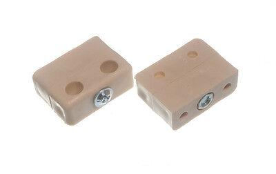 20 X BEIGE MODESTY FIXIT BLOCK CONNECTOR BLOCKS M0541