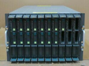 Fujitsu-Siemens-PRIMERGY-BX600-S3-With-10x-BX620-S5-2x-L5530-CPU-Blade-Servers