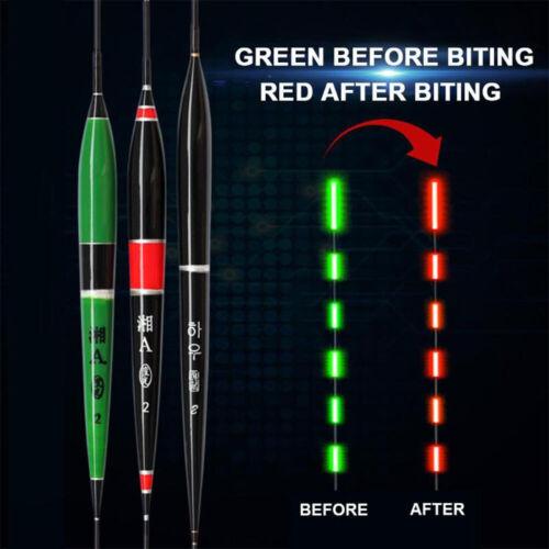 Smart Fishing Float Night Luminous Fishing Float Led  Light Automatically Remind