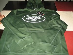 Top MENS NIKE THERMA FIT NEW YORK JETS HOODIE M MEDIUM GREEN NWT | eBay  free shipping