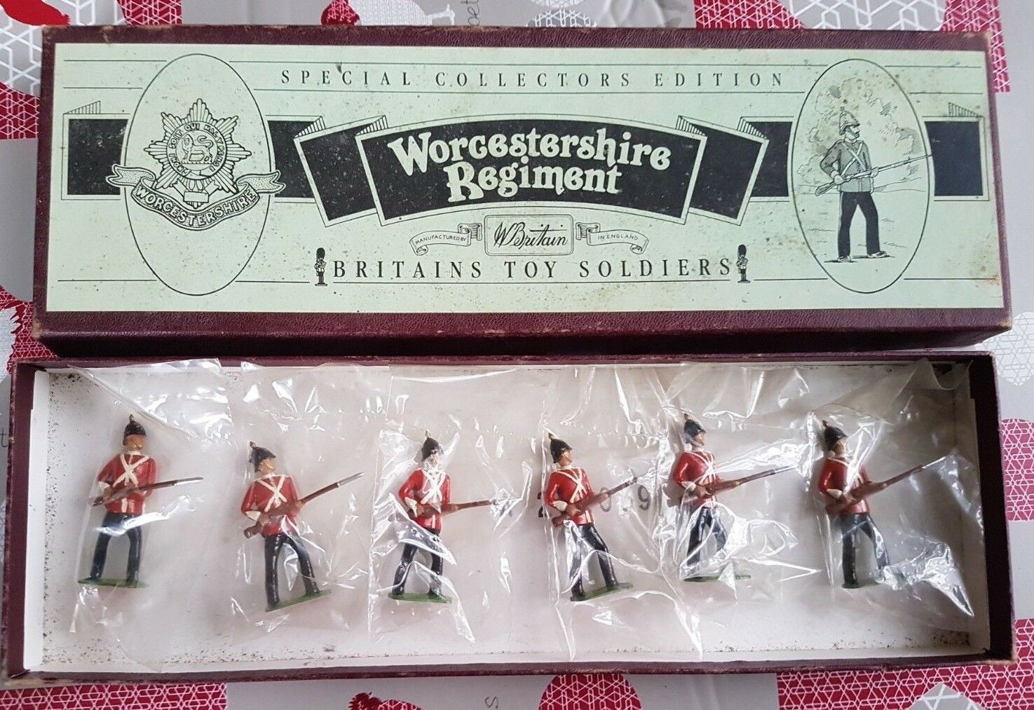 Britains  8802 Worcestershire Regiment Special Collector's Edition