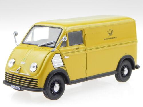 DKW F89 Schnellaster Deutsche Bundespost Modellauto 820302 Norev 1:43