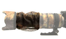 ZOOM COVER : MESH lens camouflage fits all large telephoto lenses Brown Camo