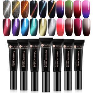 UR-SUGAR-8ml-Gel-Polish-Red-Color-Changing-Soak-Off-UV-LED-Gel-Nail-Varnish
