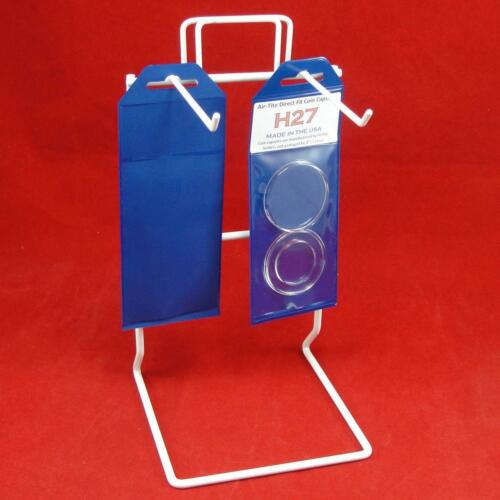 Individual Retail Pkg Model H27 Qty 3 AirTite Direct Fit Coin Holder Capsules