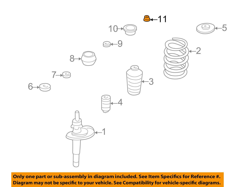 New Nut Pack 934ZIM08 N110088 for Volkswagen VW