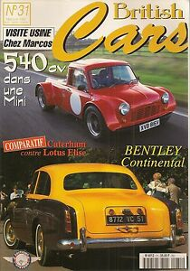 BRITISH-CARS-31-MINI-540cv-BENTLEY-CONTINENTAL-CATERHAM-LOTUS-ELISE-SEVEN