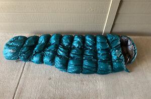 Montbell Down Hugger 3 800 Fill Sleeping Bag Used Left