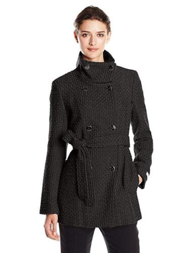 L Størrelser S Xs I Klein Sorte Calvin Xl Textured krave Peacoat Funnel Avwq01x