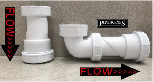 Universal senz/'acqua bacino bagno doccia o Lavello Rifiuti Trappola 32mm o 40mm