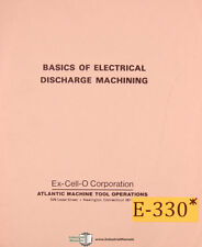 Excello Atlantic Edm Basics Of Electrical Discharge Machining Manual