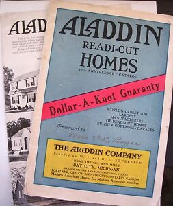vintage advertising booklets aladdin readi cut homes w colored