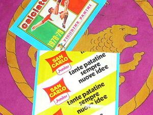 --- Bustina sigillata Calciatori Panini 1978 79 - SAN CARLO - perfetta 78 79 - Italia - --- Bustina sigillata Calciatori Panini 1978 79 - SAN CARLO - perfetta 78 79 - Italia