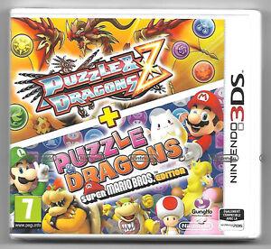 PUZZLE-amp-DRAGONS-Z-PUZZLE-amp-DRAGONS-MARIO-Neuf-sous-blister-Jeu-Nintendo-3DS